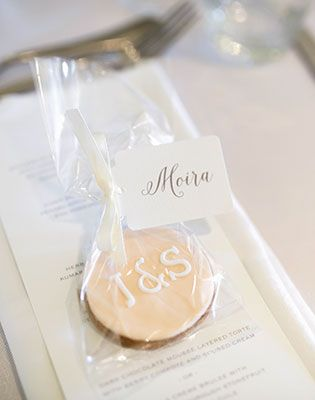Sugar Baby Cakery made these sweet wedding favours. Image: Jessica Jones Photography