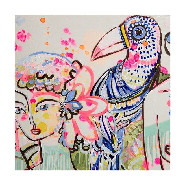 Love Jai Vasicek's work!! So creative!! I'm running out of wall space though…