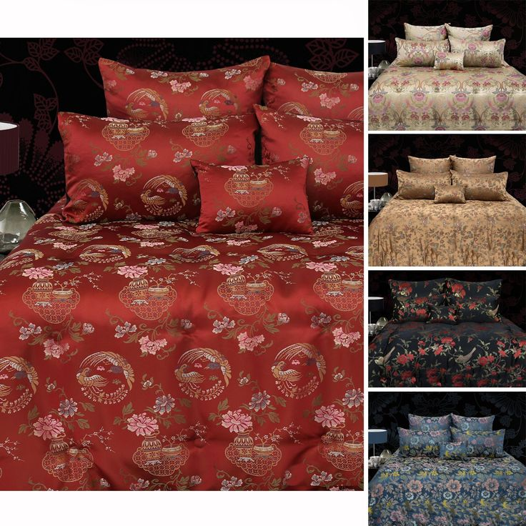 6 Piece Oriental Style Comforter Set by Grand Aterlier