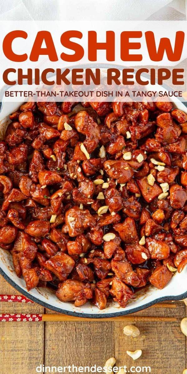 cashew chicken in 2020 healthy snacks recipes chicken dinner recipes chicken recipes pinterest