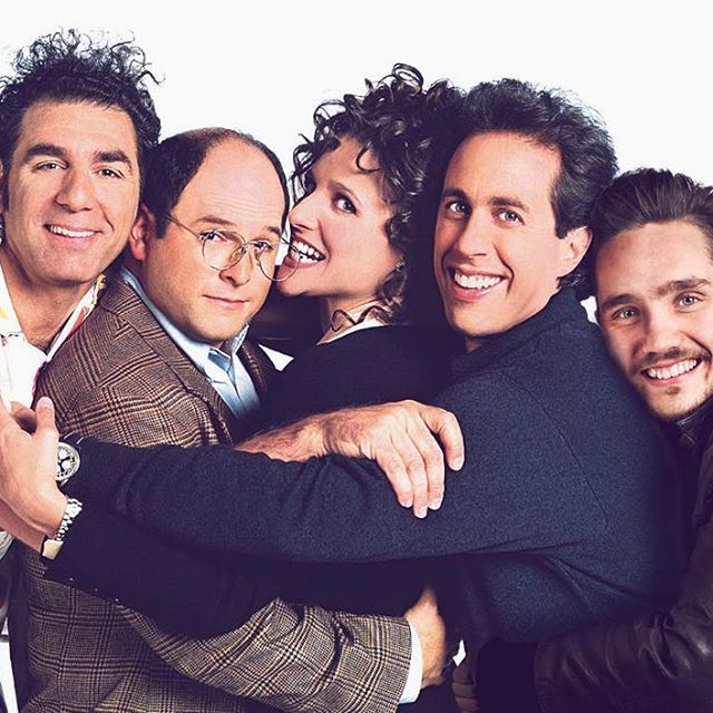 #tbt Greatest day of my life! #seinfeld