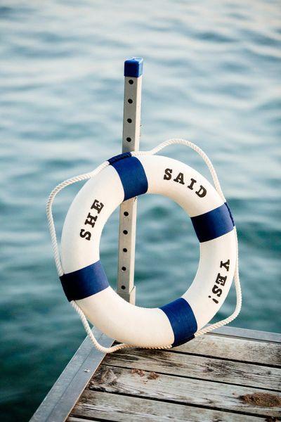 40 ideas para tener una boda de estilo marinero. ¡Toma nota y triunfa! Image: 33