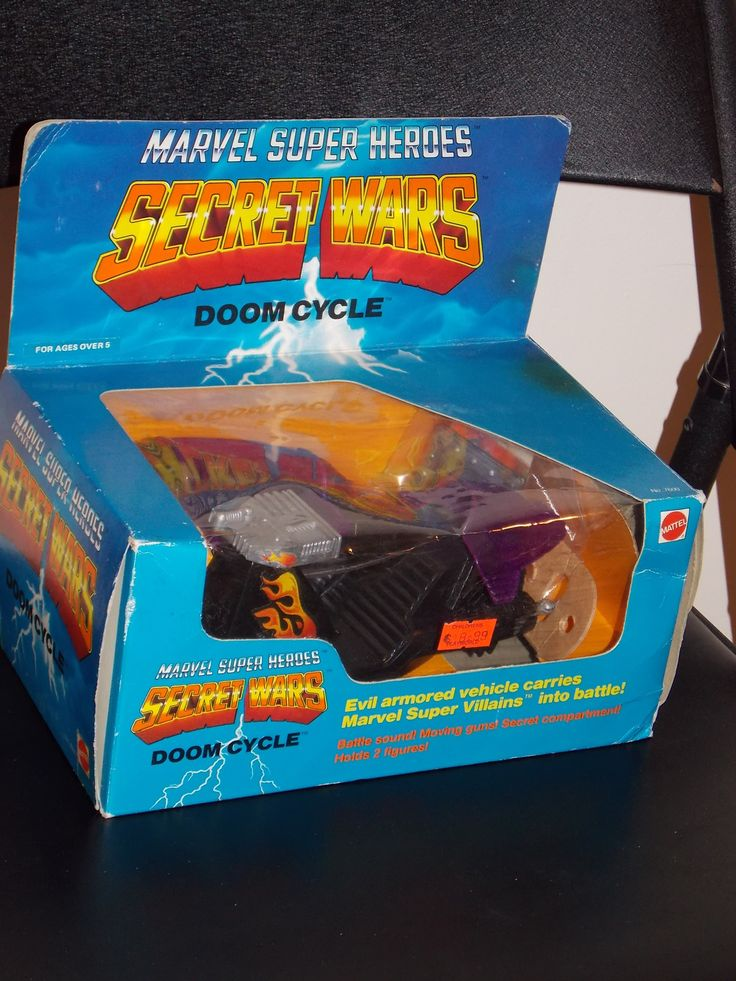 Vintage 1984 Marvel Secret Wars Doom Cycle New In The Box
