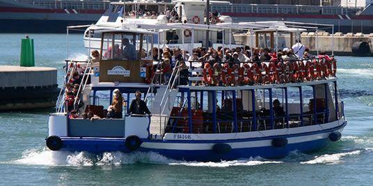 Las Golondrinas Barcelona Boat Tours