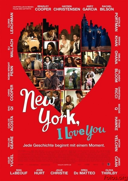 New York I love you.......such interesting vignettes. If you like this one you should also try Paris Je T'aime. That movie was done first but is mostly in French so it is subtitled.