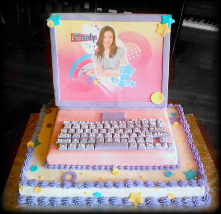 25 Best Ideas About Computer Cake On Pinterest: Laptops, Parties