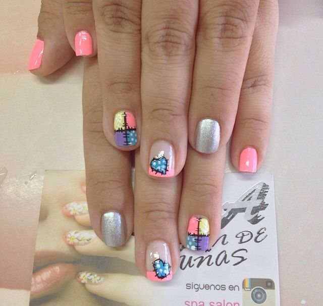 4448 best uñas images on Pinterest | Nail art, Nail decorations and ...