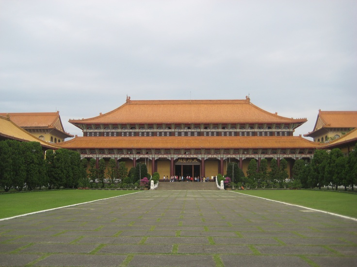 The headquarters of Fo Guang Shan, located in Kaohsiung, the largest Buddhist monastery in Taiwan. Photo by CD