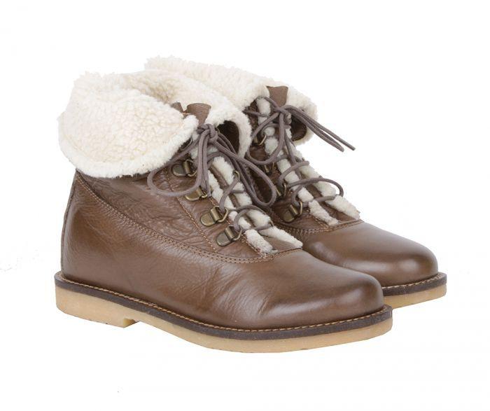 Alessandro Зимние светло-коричневые ботинки от итальянского бренда Alessandro