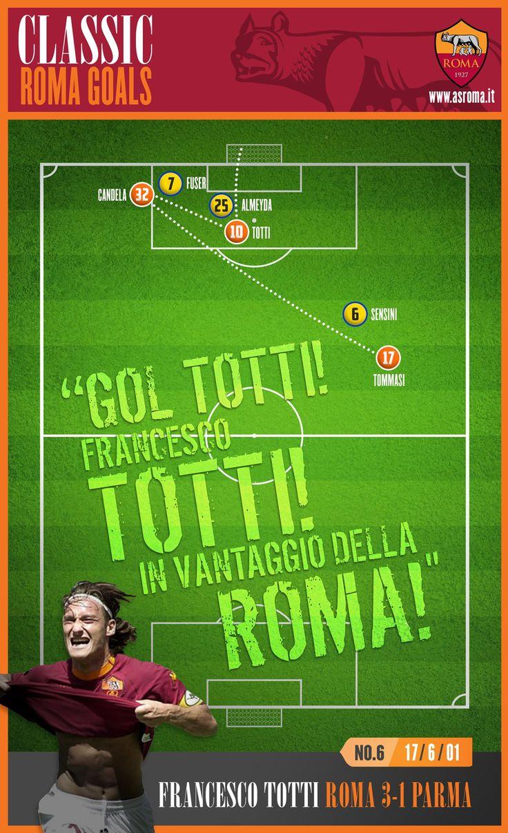 Classic Roma Goals: No.6 Totti v Parma