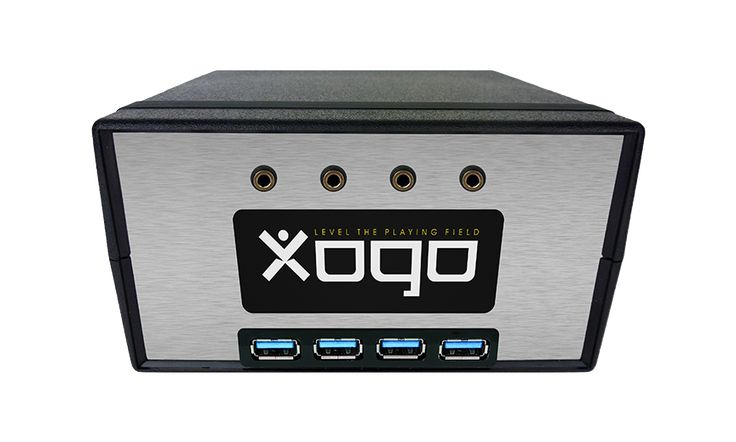 Xogo allows you to customize how your assistive devices map to technology controls using an intuitive interface. You can connect through USB devices, standard controllers, buddy button, and Bluetooth. Access you video games, cable boxes, and more. -Courage Kenny Rehabilitation Institute