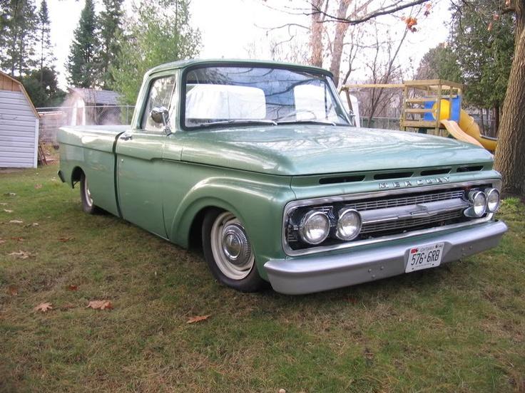A Canadian 1963 Mercury M100 Vintage pickup trucks