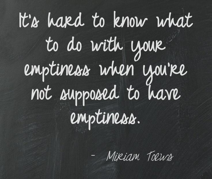 Miriam Toews, A Complicated Kindness