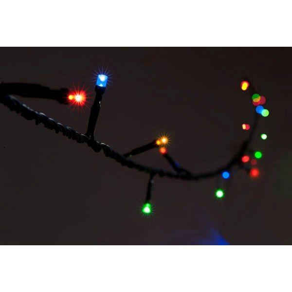 Lysslynge Blinka 16 m Transformator inkludert Flerfarget Blinkende lys - Lyskjeder - Rusta