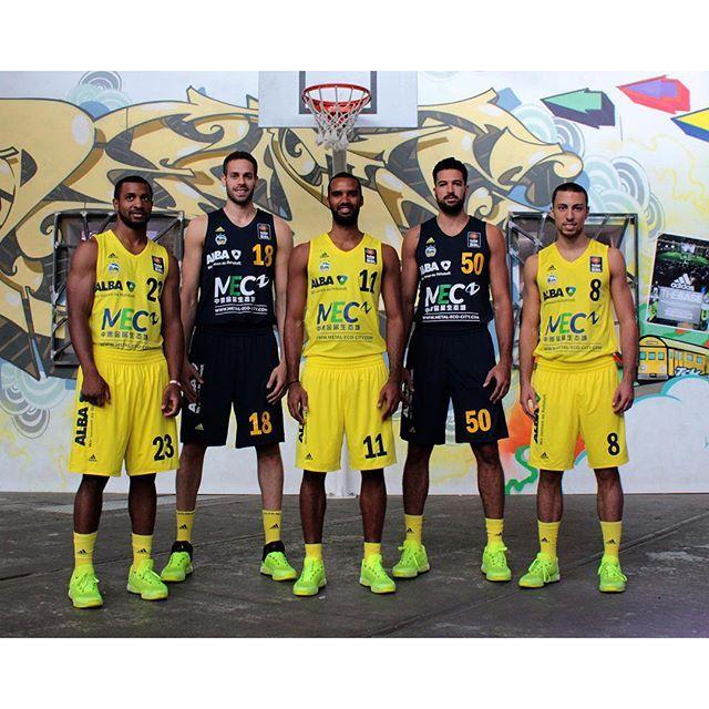 @adidas proudly presents: Das ALBA-Trikot 2015/2016. by albaberlin