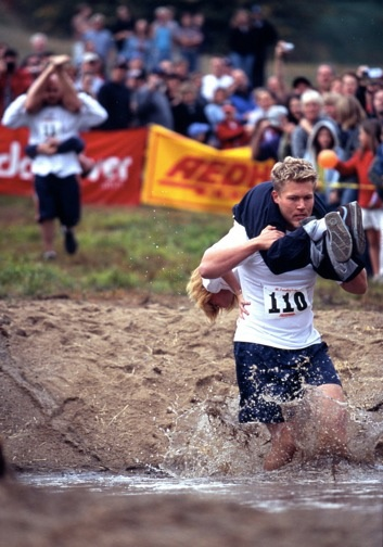 Wife Carrying from Sonkajarvi, Finland photo