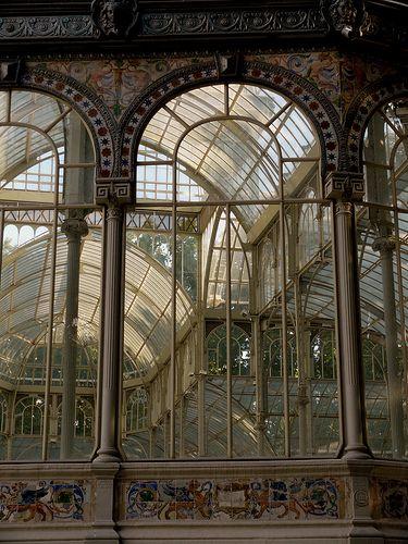 El Palacio de Cristal del Retiro - A bit of heavenliness in Madrid, Spain...