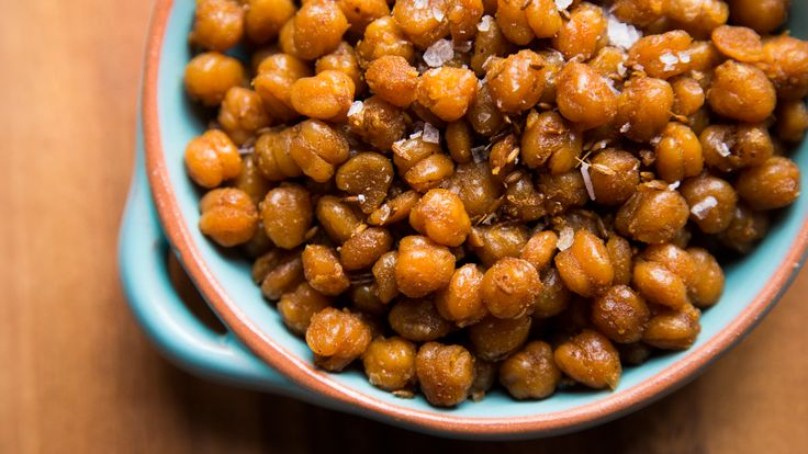 Spicy Roasted Chickpeas Recipe: Video - HealthiNation