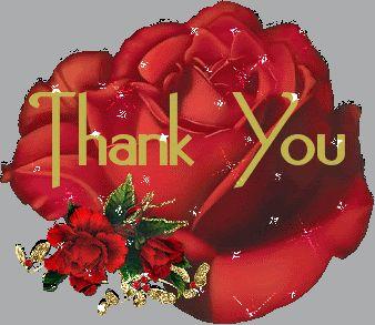 Thank You Photo Thank You Rosesgif Tags Pinterest Thankful