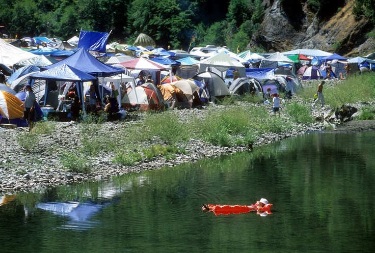 Reggae on the River, California - Escape the crowds and find your own piece of heaven