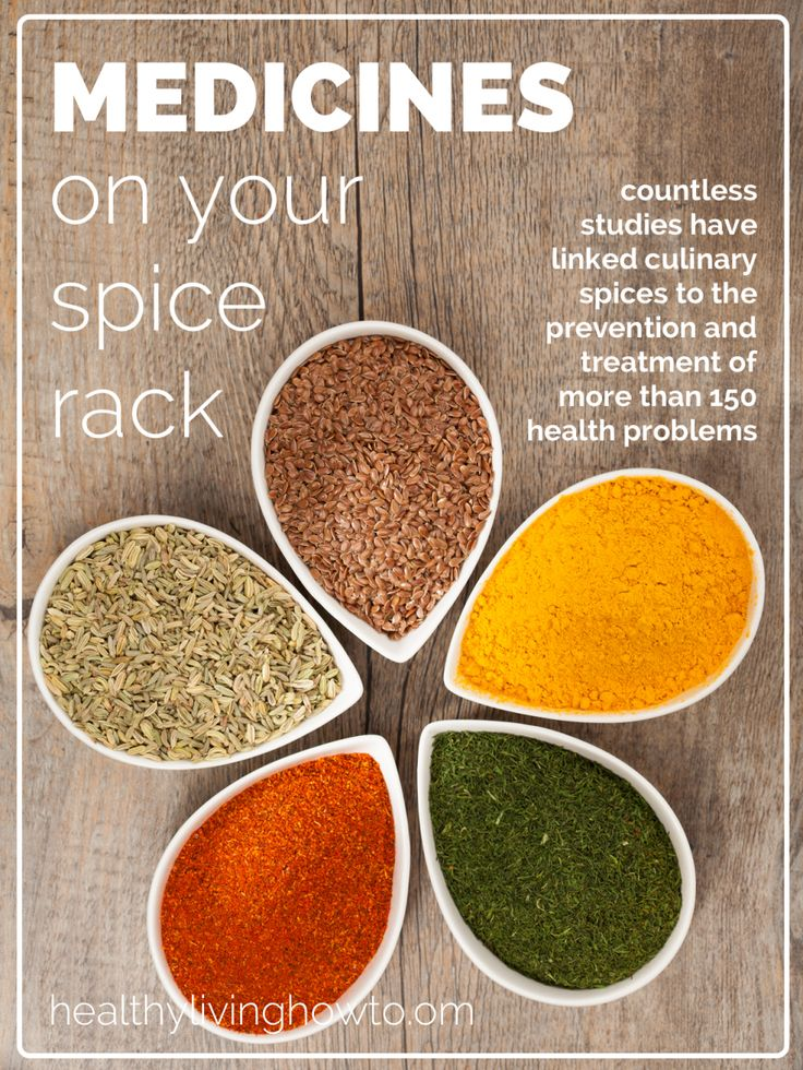 Medicines On Your Spice Rack | healthylivinghowto.com