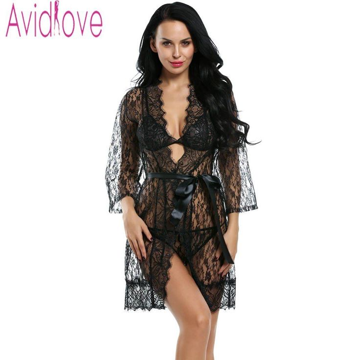 Avidlove Women Se...  Check it out here : http://clovats.com/products/avidlove-women-sexy-lingerie-hot-erotic-sleepwear-4pcs-lace-robe-sexy-unlined-bra-g-string-nightwear-belt-plus-size-lingerie?utm_campaign=social_autopilot&utm_source=pin&utm_medium=pin  #Shopping #Clothing #Footwear #Accessories #Clovats