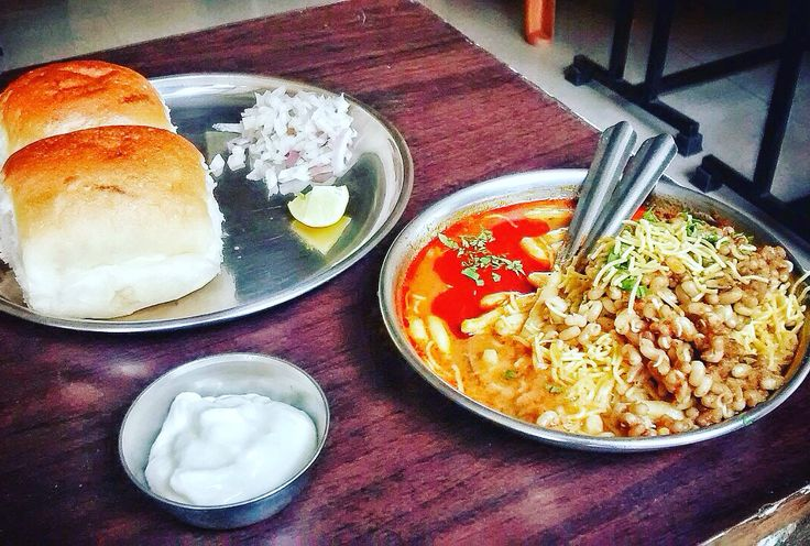 Dahi Misal Pav from Nasik a delicious concoction of flavours and spices. Enough to burn a hole in your mouth.