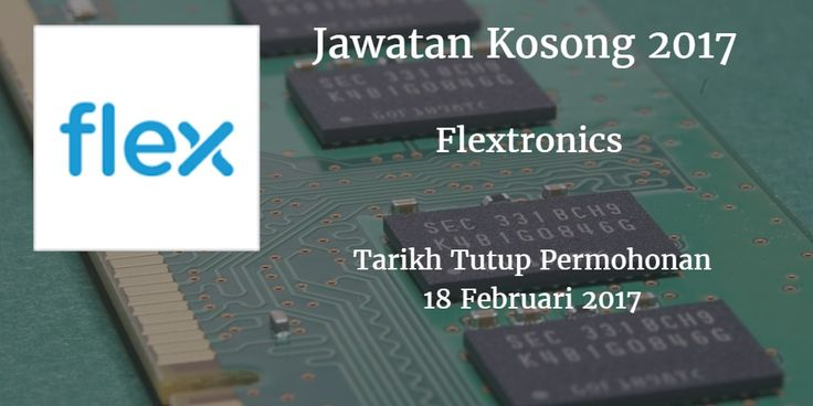Jawatan Kosong Flextronics 18 Februari 2017  Jawatan Kosong Flextronics.  Johor Bahru Februari 2017  Jawatan Kosong Flextronics 18 Februari 2017  Flextronics. Johor Bahru membuka peluang pekerjaan terkini bulan Februari ini. Warganegara Malaysia yang berminat kerja Flextronics. Johor Bahru dan berkelayakan dipelawa untuk memohon kekosongan jawatan : OPERATOR PENGELUARAN Tarikh : 18 Februari 2017 ( Sabtu Masa : 10.00 pagi - 4.00 petang Tempat : Dewan Semai Bakti Felda Semenchu 81900 Kota…