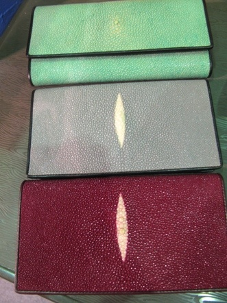 Stingray wallets from Sleman, Jogja, Indonesia.