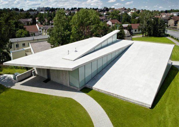 Dom modlitwy, Litomysl, Czechy, proj. Fránek Architects