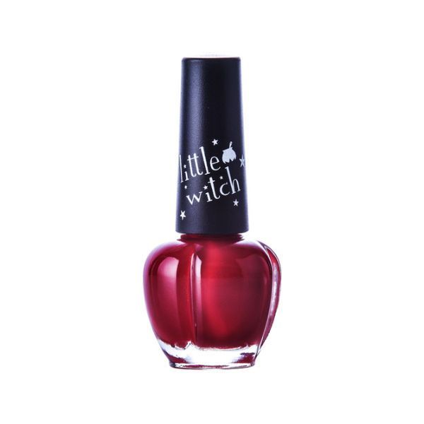 Water based Manicure for Kids & Student AMOS Non-toxic Nail Art Deep Red #AMOS