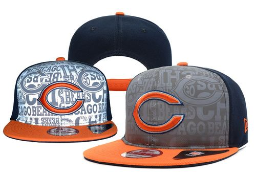 NFL Chicago Bears Fashionable Snapback Cap for Four Seasons