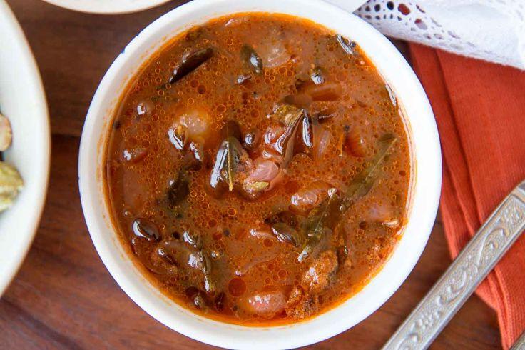 Vendakkai Puli Kuzhambi (Kerala Bhindi Curry) by Saransh Goila