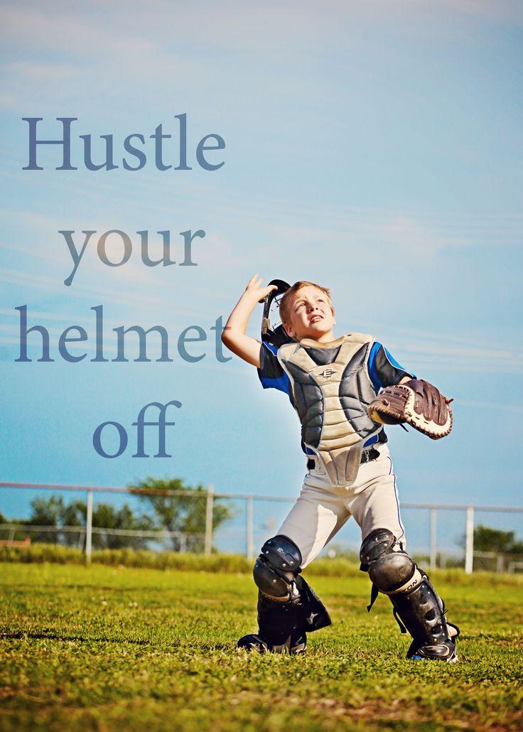LOVE THIS! (said the mamma of a little catcher!)  Little league baseball