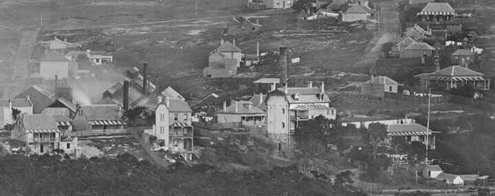 Balmain in inner Sydney in 1871.Photo from State Library of NSW.A♥W