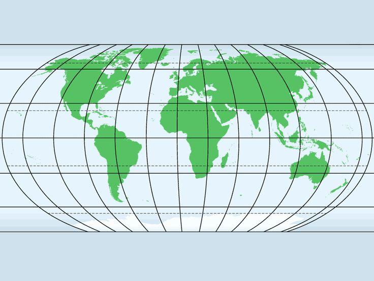World Laudes And Longitudes Map Quiz Game
