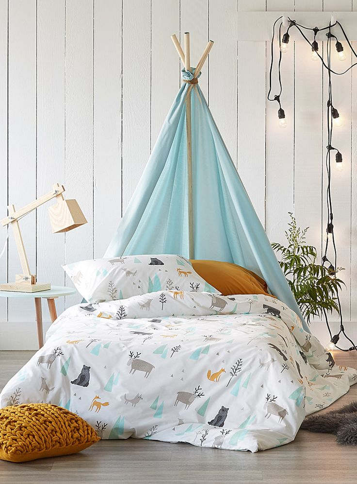 A walk in the woods duvet cover set   Simons Maison   Shop Duvet Covers and Comforters for Kids   Simons