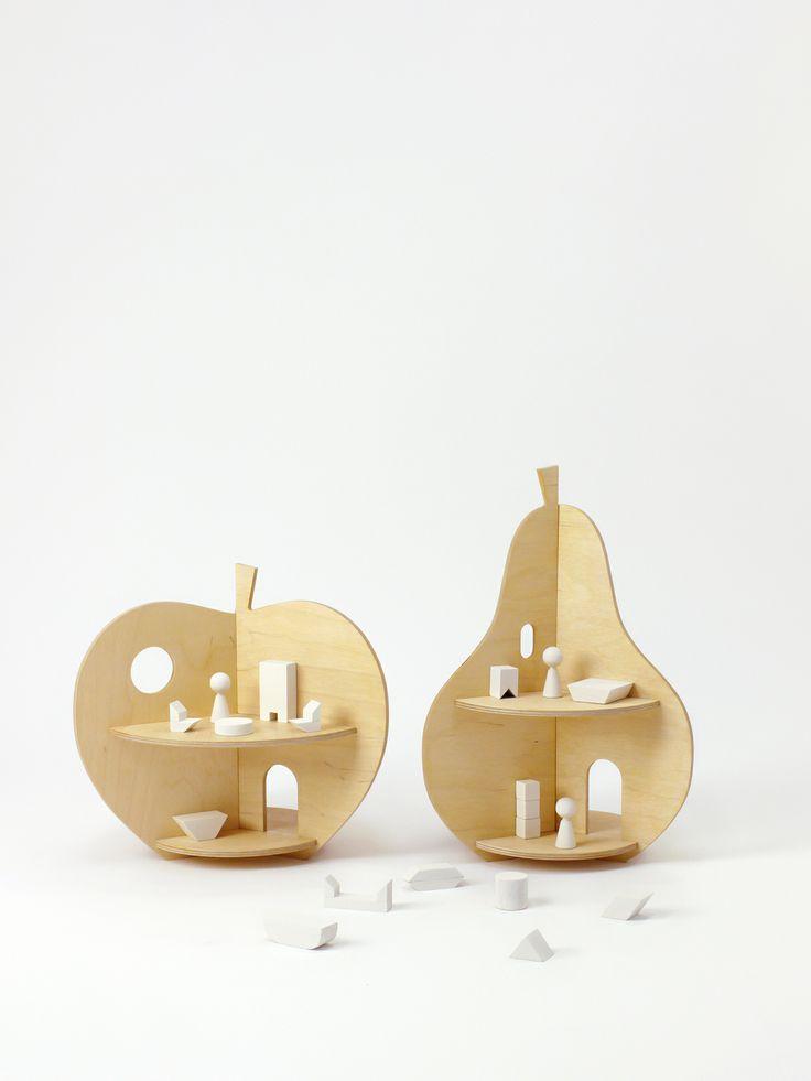 Apple House + Pear House // Rock & Pebble