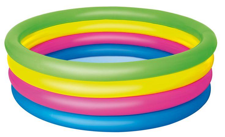 "Bestway 51117 Planschbecken ""4 Colored Rings"", 157 x 46 cm   PLANSCHBECKEN   POOLS & SPA   FREIZEIT   Kajak Kanu Elektromotor bei BeachandPool.de online kaufen"