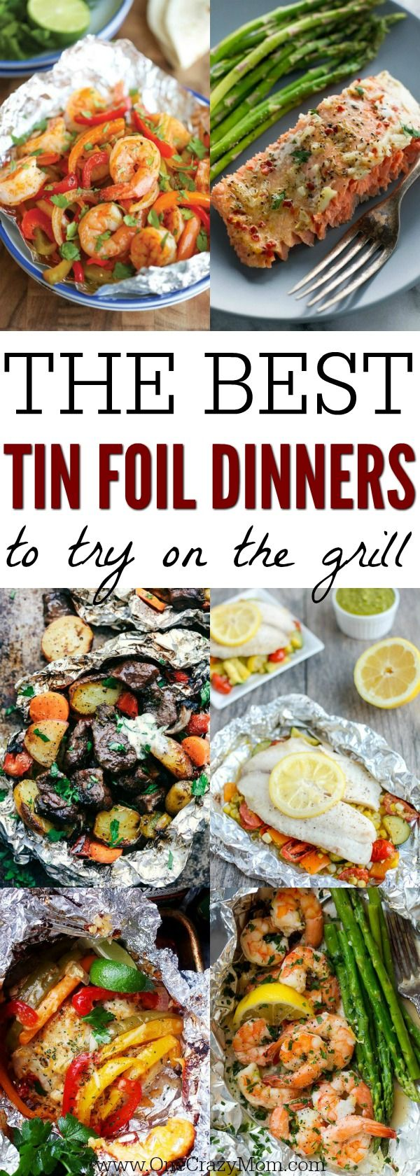 We have the best tin foil dinners for you to try! These foil pack meals make dinner time simple. Clean up is a breeze with these foil packet recipes. These are truly the best foil packet dinner ideas. Try these tasty foil dinners today!