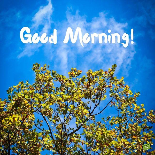 青い空がさわやか!おはようの言葉シリーズ