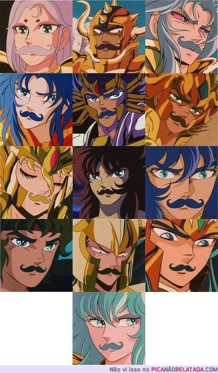 There is a reason that none of them have facial hair...