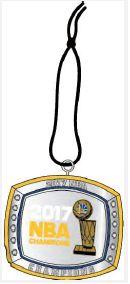 AAA Sports Memorabilia LLC - 2017 NBA Champs Golden State Warriors Ring Ornament, $12.99 (http://www.aaasportsmemorabilia.com/nba/nba-finals/2017/2017-nba-champs-golden-state-warriors-ring-ornament/)