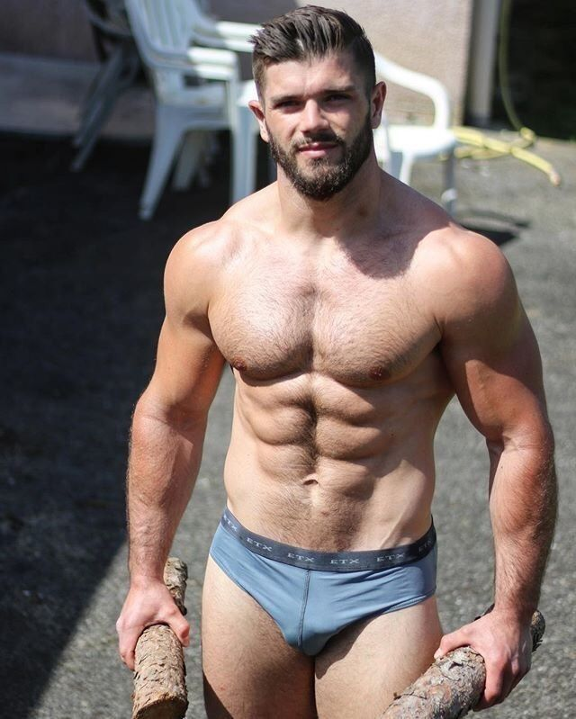 Muscular gays ravage