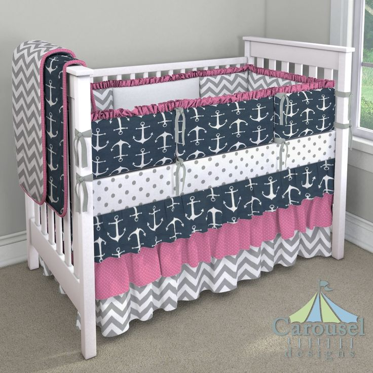 Coastal Crib Bedding