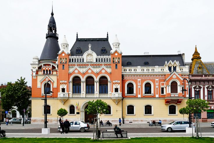 The Greek-Catholic Bishop Palace was built in 1903 under the plans of architect Rimanoczy Kalman Jr in renaissance style with Baroque and Rococo elements. In 1948 the Bishop Palace had been seized and transformed in a folksy school. After that there was installed the County Library (Biblioteca Judeteana). After 1989, the Greek-catholic church got back the bishop palace.