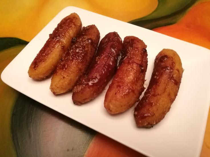 Bananos Caramelizados