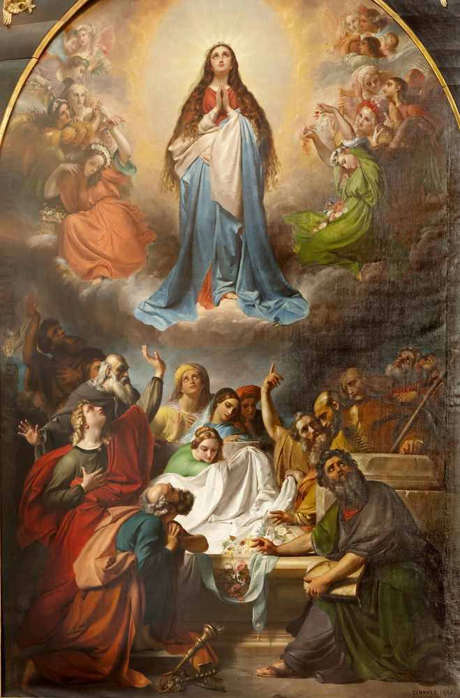 The Open Rooms of Mary's Heart.  August 15th the Assumption of The Blessed Virgin Mary into Heaven