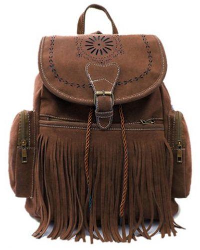 Boho Tassel Backpack Bag. Get it @ www.mermaidsandsailors.net