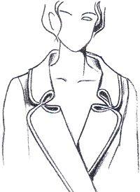 dessiner différents patrons de cols - Моделирование воротников-стоек | pokroyka.ru-как сшить юбку, брюки, платье, пиджак, журналы по шитью